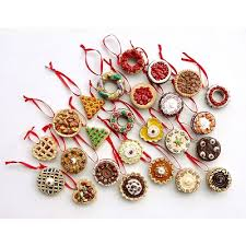 german chocolate cake ornament