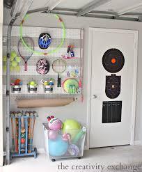 decoration diy pegboard garage organization ideas for small and