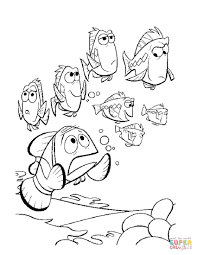 finding nemo coloring pages finding nemo colouring pages and kids