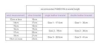wrist bracelet size images Vibrant pandora bracelet size bracelets chart online necklace jpg