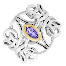 amethyst engagement rings keith jack amethyst guardian angel ring in sterling silver and