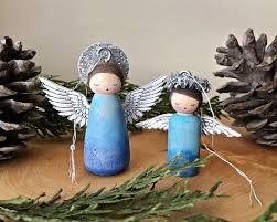 hello wonderful diy peg doll ornament