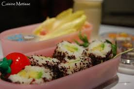 cuisine metisse cuisine metisse version bento