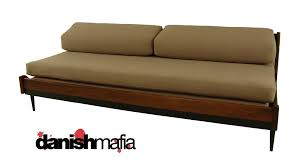 mid century modern sofa couch daybed day bed eames era danish mafia