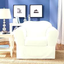 large chair covers armchair chairs classic slipcovers washable cover white