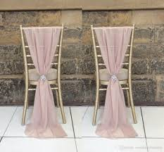 Cheap Sashes Enable Destop Garden Formal Wedding Chair Cover Back Sashes