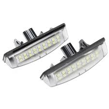 lexus es330 brake light replacement amazon com newsun led license plate lights for toyota camry