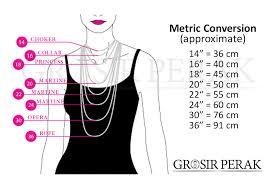 necklace size images Standard necklace size la necklace jpg