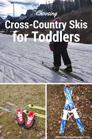 cross country skiing toddler