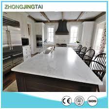 Quartz Table L China L Shape Kitchen Counter Top Calacatta Quartz Kitchen