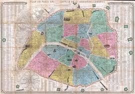 Map Paris France by File 1863 Henriot Pocket Map Of Paris France Geographicus