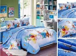 Full Size Bed Sheet Sets Christmas Twin Full Queen King Blue Bedding Bed Linen Set Cartoon