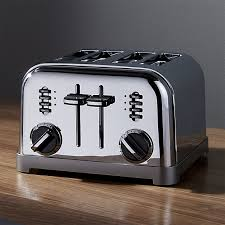 4 Slice Toasters On Sale Cuisinart Classic 4 Slice Toaster Crate And Barrel