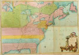 Map Of The United States In Color by Maps And The Beginnings Of Colonial North America Digital