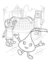 hershey kiss coloring page funycoloring