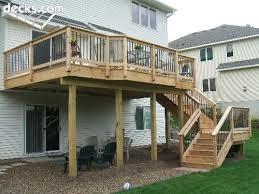 deck design with screen porch below deck u0026 screened under deck