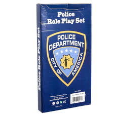 halloween police accessories amazon com dressup america halloween police officer role play kit