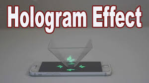 Hologramm Le How To A Hologram At Home