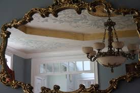 what is a powder room finished with style oh what a ceiling