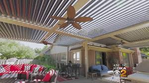 Pergola Ceiling Fan Pergolas Praised As Smart And Stylish Patio Feature Cbs Pittsburgh