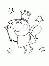 coloring pages peppa pig coloring