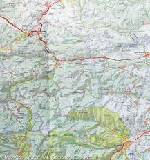 Girona Spain Map by Map Of Eastern Pyrenees U0026 Andorra France Spain Michelin