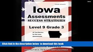 audiobook iowa assessments success strategies level 9 grade 3