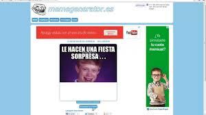 Crear Un Meme Online - como crear un meme online 100 explicado youtube