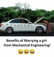 Mechanical Engineer Meme - dopl3r com memes benefits of marrying a girl from mechanical