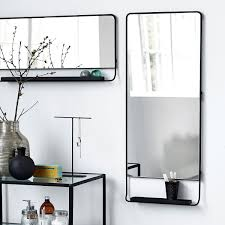 Bathroom Mirror With Shelf by Bathroom Mirror With Glass Shelf Droidsure Com
