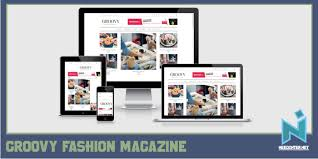 free magazine blogger template free download groovy fashion magazine blogger template needinter net