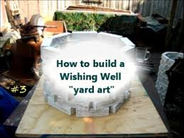how to build a wishing well yard project 3of