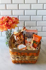 build a gift basket how to build a fall care gift basket for less than 25 with