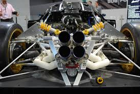 pagani zonda engine the exhaust of pagani zonda r pics