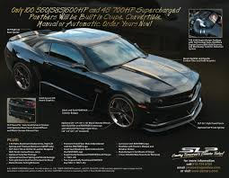 slp panther camaro limited edition announced 560 700hp versions
