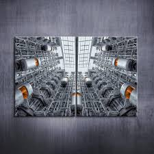 elevator 2 panels canvas prints wall art for home decor artwork