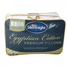 Silentnight Egyptian Cotton Duvet Silentnight Egyptian Cotton Pillow Pair Poundstretcher