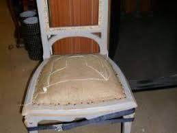 refaire l assise d une chaise ma chaise grise par la fée marraine