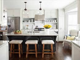 brilliant white kitchen with island 25 dreamy kitchens throughout