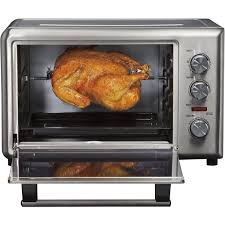 Toaster Oven Pizza Stainless Steel 10 Slice Convection Toaster Oven U0026 Rotisserie