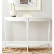Safavieh Console Table Safavieh Christina Shady White Console Table Amh6610a The Home Depot