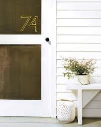 how to stitch a nylon twine house number martha stewart