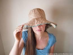 como hacer un sombrero de carton cómo hacer un sombrero de cartón para el verano
