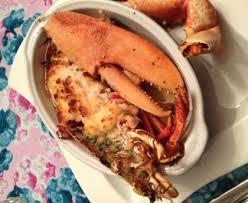 cuisiner homard surgelé homard rôti au beurre de crevettes recette de homard rôti au
