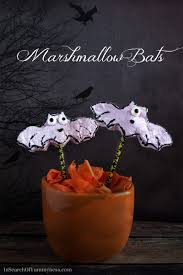 marshmallow bats recipe in search of yummy ness