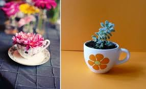 20 inspiring ideas of how to reuse teacups and teapots