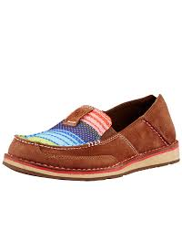 women s casual shoes ariat women s cruiser shoe palm brown serape