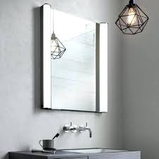 Lighted Bathroom Mirror Cabinets Led Illuminated Bathroom Mirror Cabinet Shaver Socket Sensor