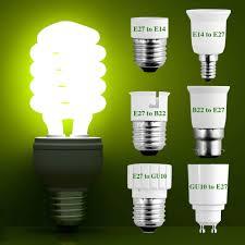 gu10 e27 e14 b22 bulb adapter lamp extender socket converter shop