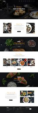 delice cuisine delice power multi purpose food restaurant psd ecommerce